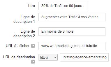 créer une publicité google adwords