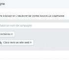 comment créer une première campagne facebook