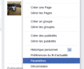 désinscription facebook