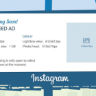 dimension publicités instagram