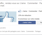 email offre facebook