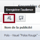 enregistrer une audience facebook