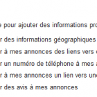 extension d'annonces google