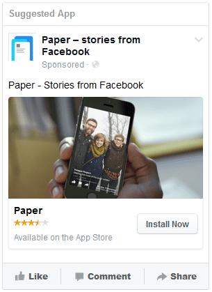 facebook téléchargements application