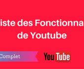 fonctionnalités youtube