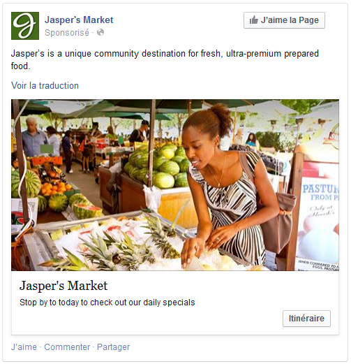 annonces locales facebook