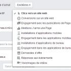 objectifs campagne facebook