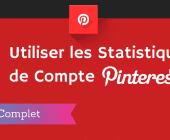 pinterest analytics : statistiques pinterest