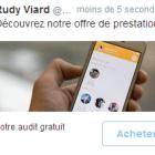 publicite twitter clics conversions