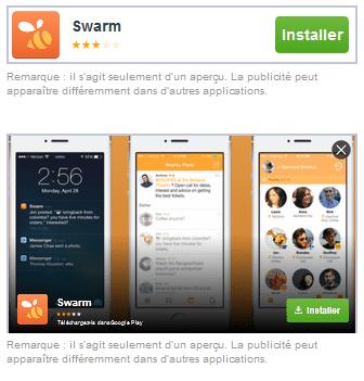 publicite facebook applications mobiles partenaires