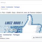 publicite page like facebook