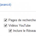 choix du réseau de diffusion des publicités youtube
