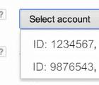 selection id google merchant