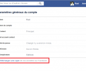suppression facebook