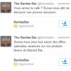 tweet sponsorisé