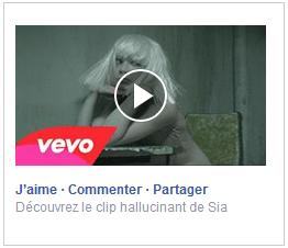 video ad facebook colonne droite