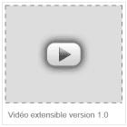 vidéo extensible