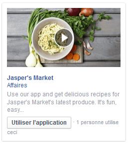 vidéo publicité facebook