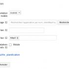 ajouter extension application