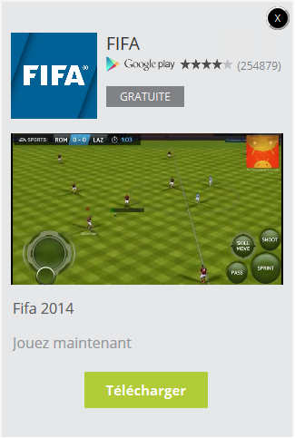 annonce video pour la promotion d'une application