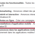 annonces installation d'applications mobiles