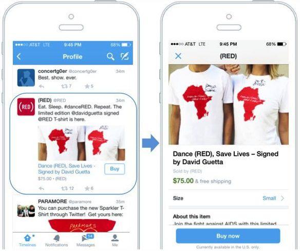 bouton acheter twitter