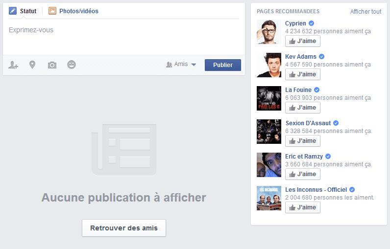 facebook inscription