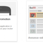 créer une annonce pour la promotion d'une application mobile
