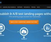 exemple de landing page