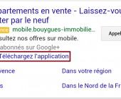 extension d'application