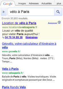 extension de lieu google sur mobile
