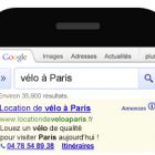 extension de lieux sur téléphone mobile