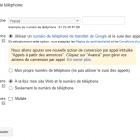 extension téléphone google