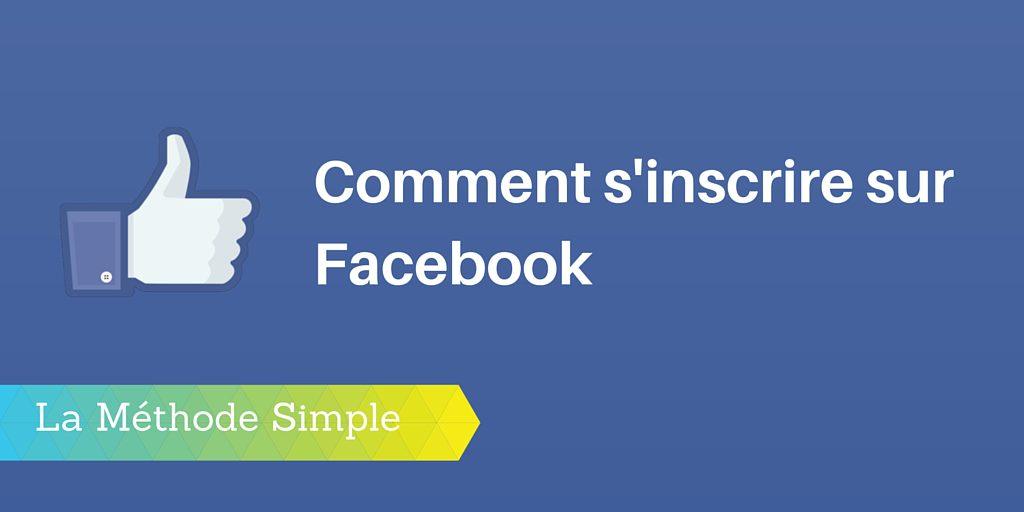 inscrire facebook