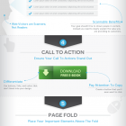 infographie landing page