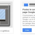 poster votre contenu google plus sur le web