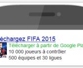 publicité application mobile google adwords