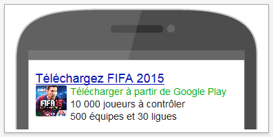 publicité application mobile google adwords