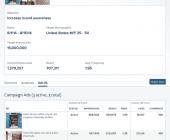 statistiques campagnes publicité instagram
