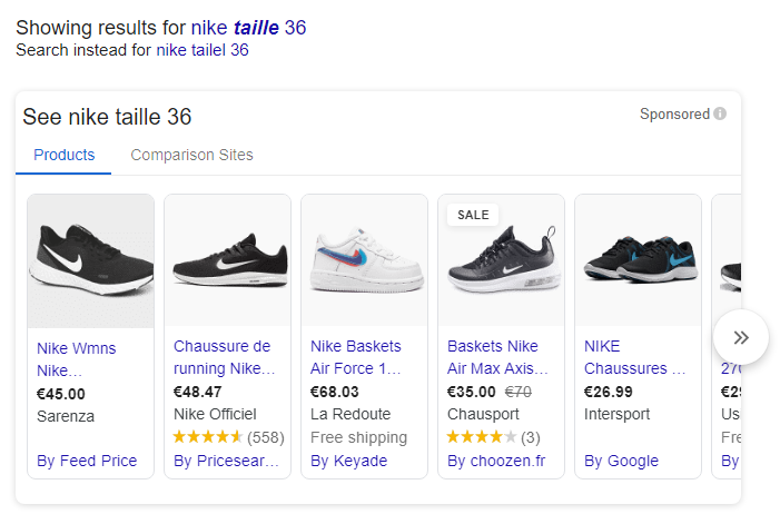 annonces shopping google ads