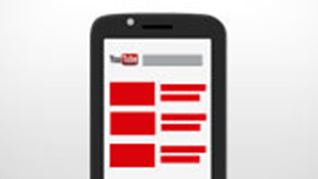 chaine youtube mobile