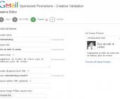 creer promotion sponsorisee gmail