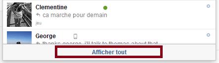 effacer email facebook