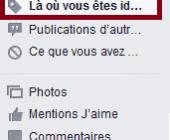effacer tags facebook