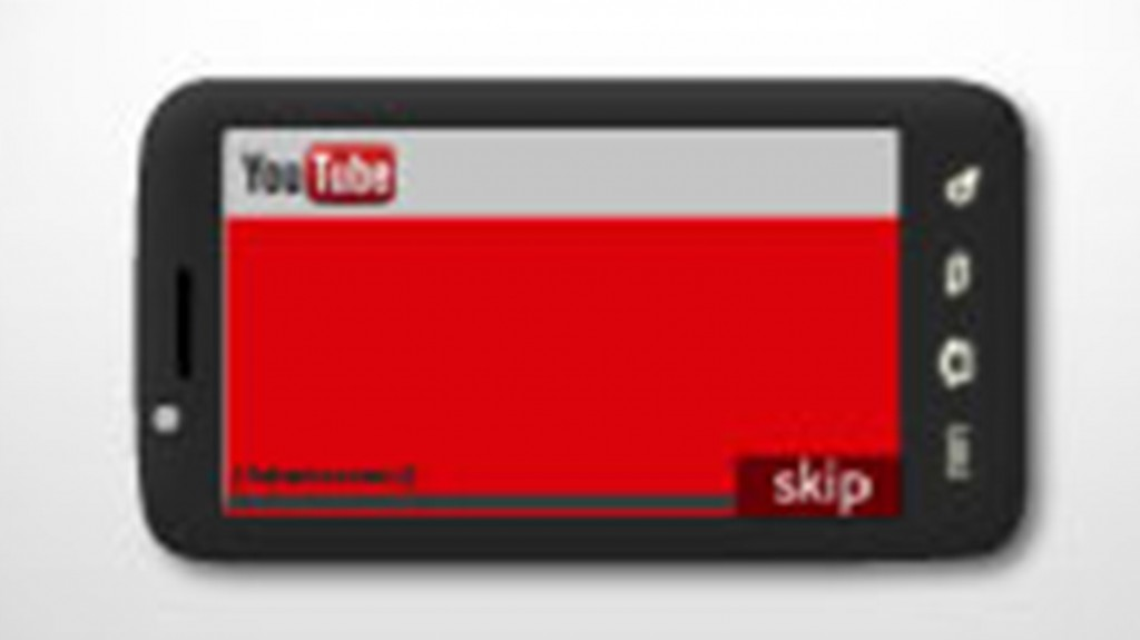 instream publicité mobile youtube