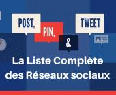 liste réseaux sociaux
