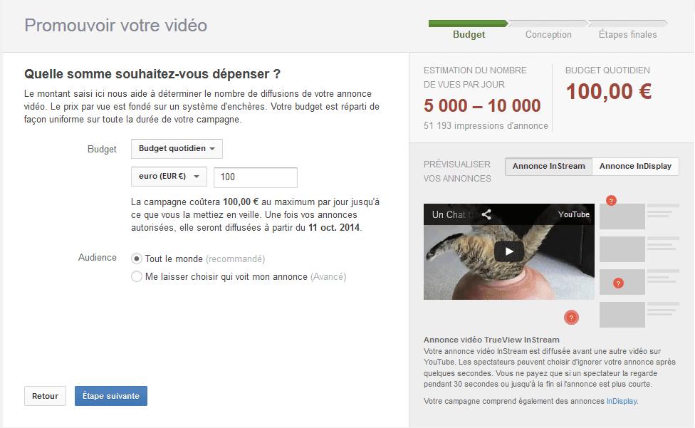 promouvoir vidéo youtube