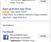publicité application mobile