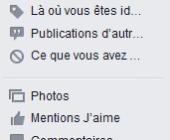 supprimer historique facebook