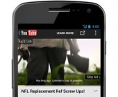 annonce trueview instream mobile youtube
